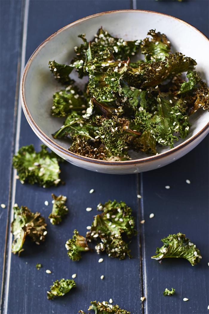 Kale chips Rens Kroes
