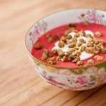 Kwark met witte mulberries   Rens Kroes