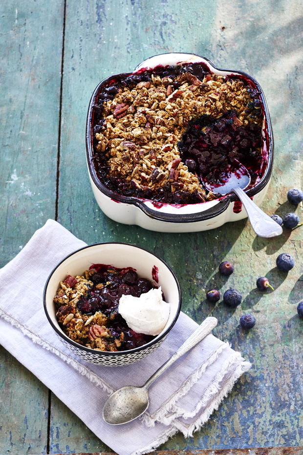 Blueberry Crumble | Rens Kroes