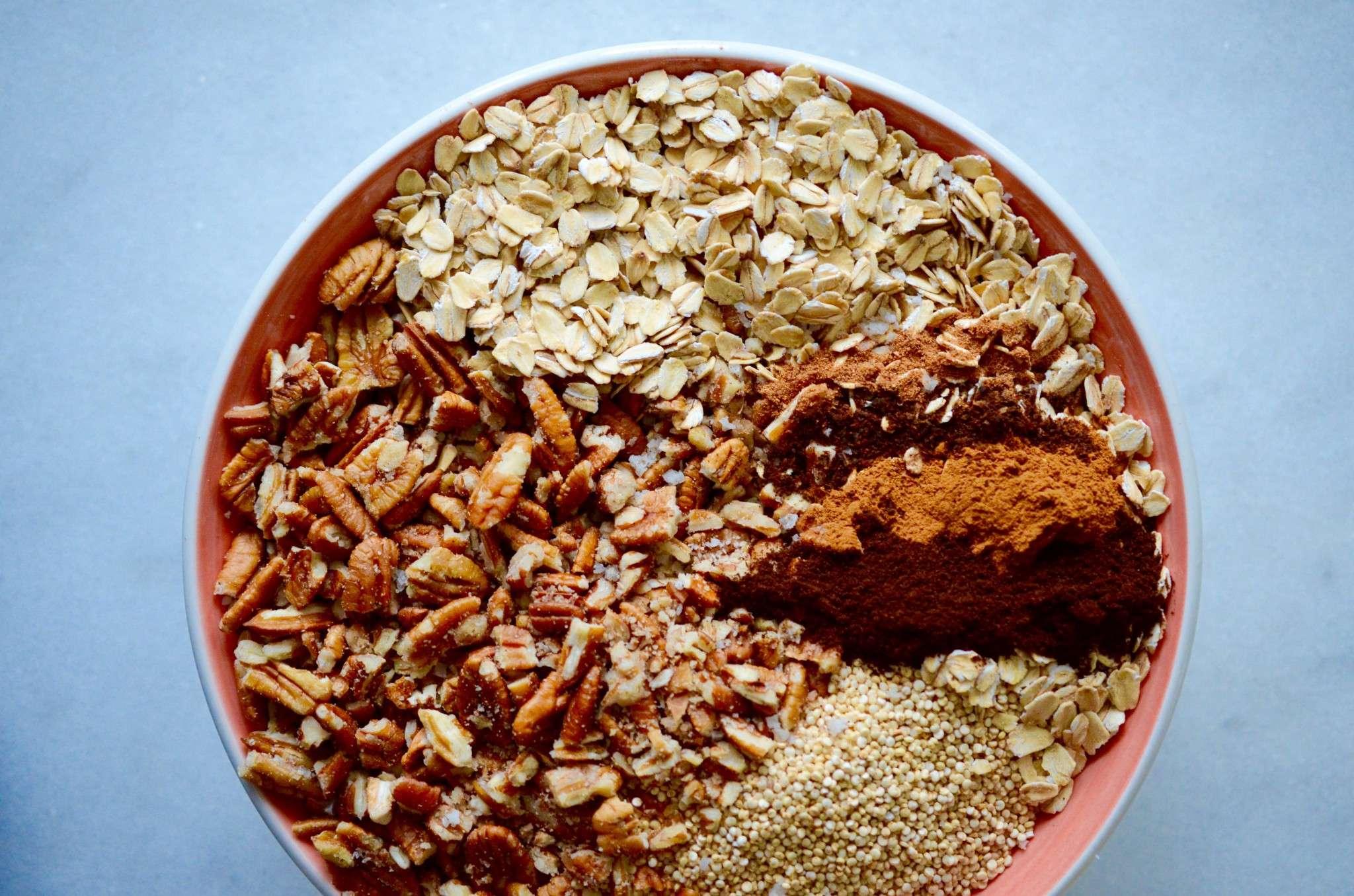 pumpkin spice granola | Rens Kroes