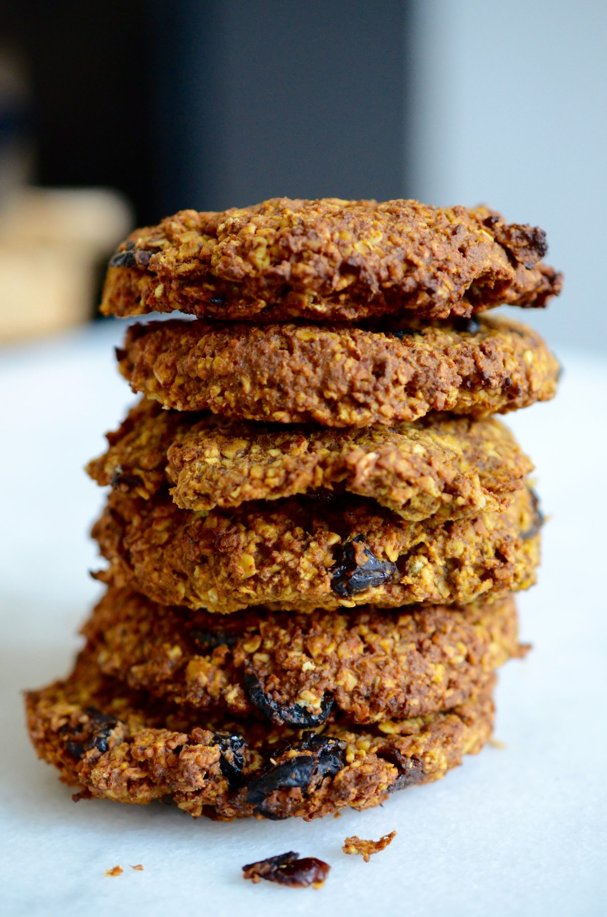 Pompoen breakfast cookies