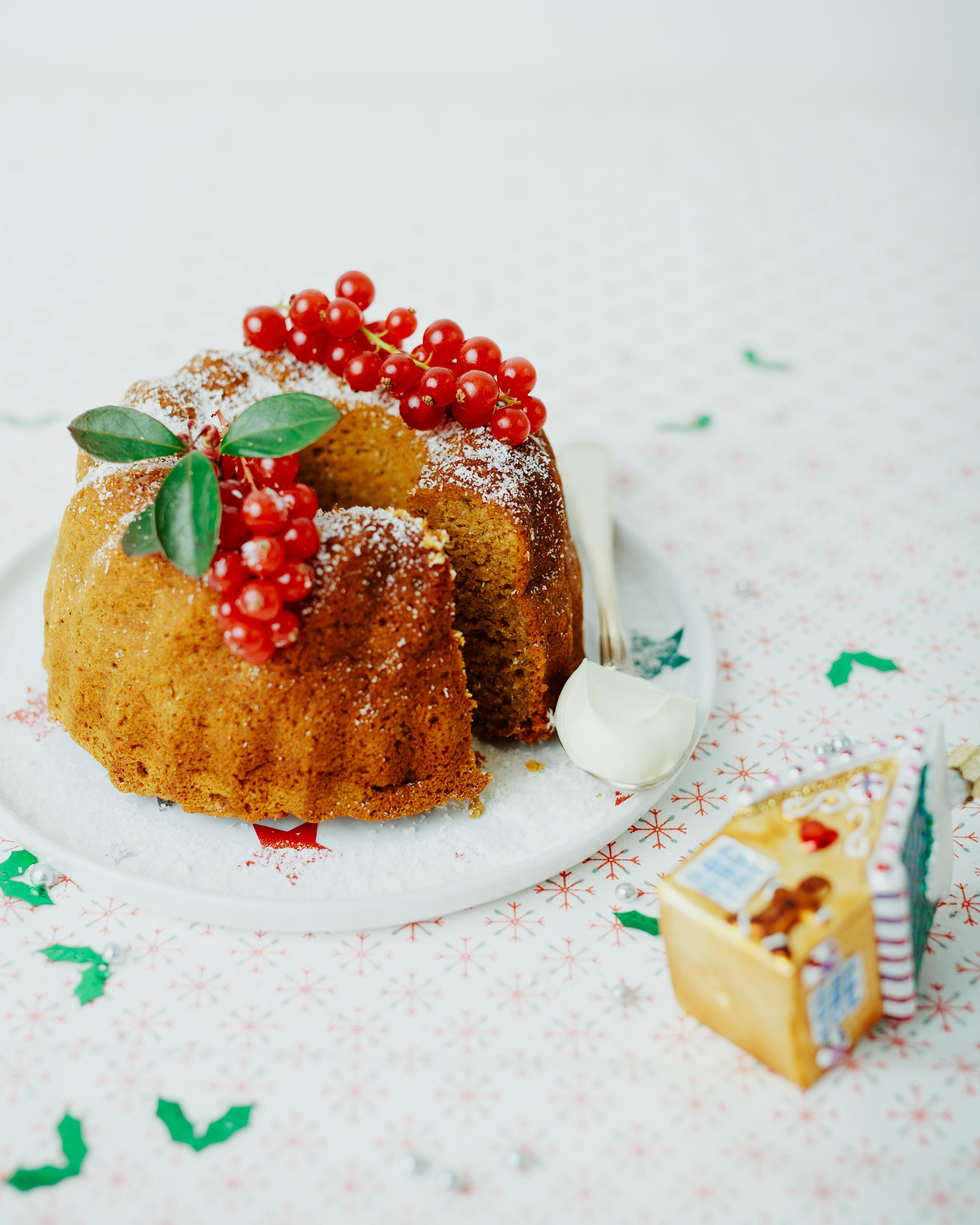 kerst ontbijt cake